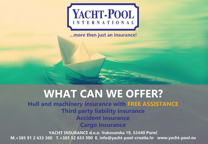 Yacht-Pool Insurance